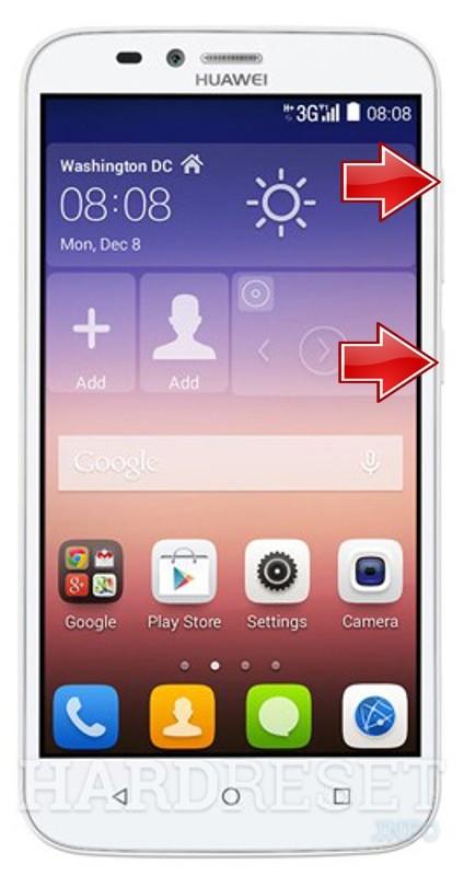 Hard Reset Huawei Y625 ripristinare impostazioni di fabbrica telefono Android