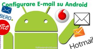 Huawei P9 come mandare una mail configurare account posta