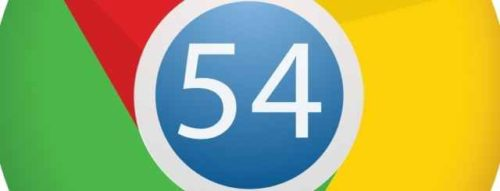 Scaricare Apk con Aggiornamento Google Chrome 54
