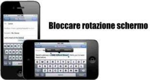 iPhone schermo non Ruota Guida istruzioni ripristino