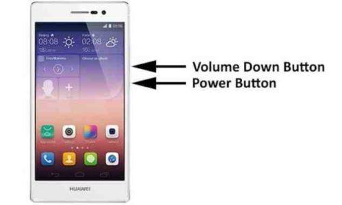 Screenshot Huawei Nova come salvare la schermata