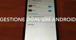 Huawei Mate 9 come usare la doppia SIM