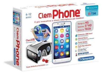 Regalo Natale Bambino Clementoni ClemPHONE 60