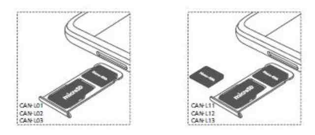 Inserire Scheda Telefonica E Scheda Microsd Huawei Nova