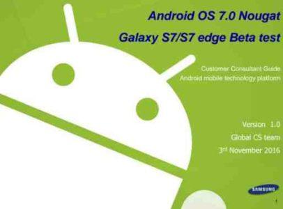 Istruzioni Samsung modifiche Android 6 Android 7