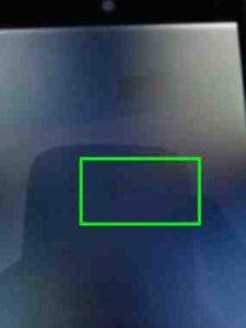 Galaxy S7 striscie colorate sul display