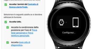 Gear S3 come collegare al telefono Android