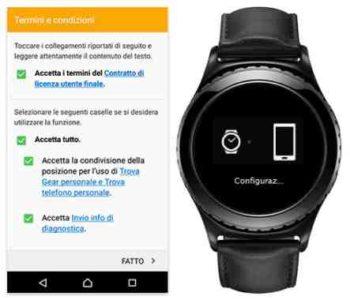 Gear S3 come collegare al telefono Android
