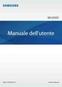 Manuale Android 7 Galaxy S7 istruzioni Pdf italiano