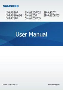 Manuale Android 7 Galaxy A7 2017 istruzioni Pdf