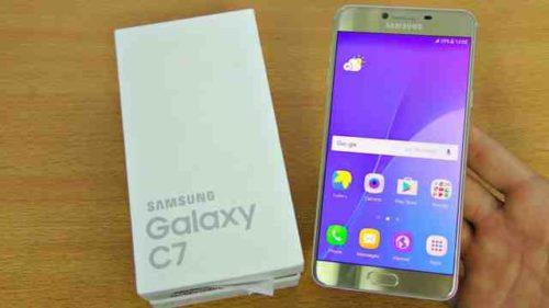 Screenshot Samsung Galaxy C7 salvare la schermata