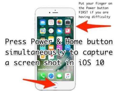 iPhone 7 Screenshots iOS 10