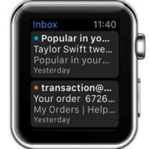 Apple Watch come vedere le mail sul display