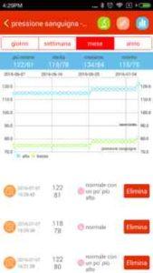 Misurare pressione del sangue con telefono Android