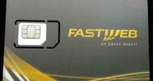 Fastweb 4G configurares cheda