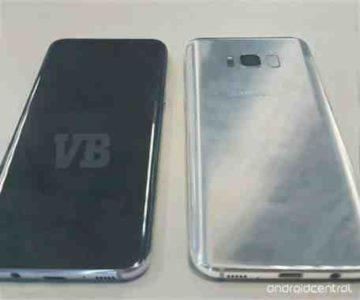 Galaxy S8 e Galaxy S8 Plus dimensione display