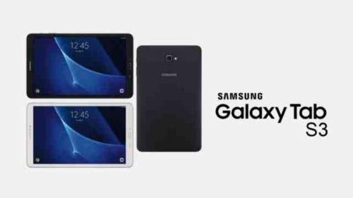 manuale Galaxy Tab S3