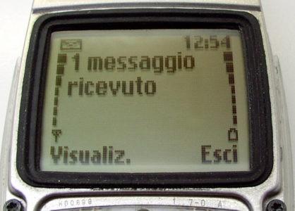 SMS non si invia a un contatto con scheda SIM Fastweb 4G LTE