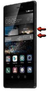 Catturare schermata Huawei P10