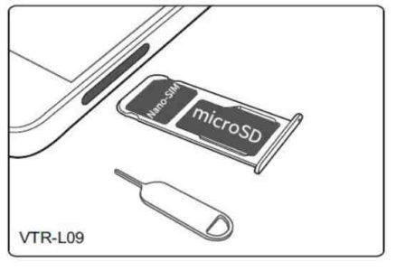 Huawei P10 inserire scheda SIM
