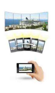 Galaxy S8 fare foto panoramica