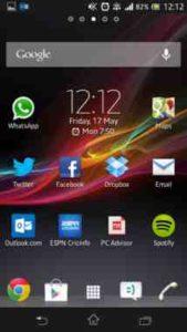 Huawei P10 aggiungere pagine alla Home