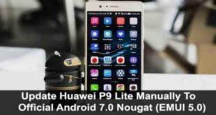 Huawei P9 Lite Android 7 aggiornamento Download