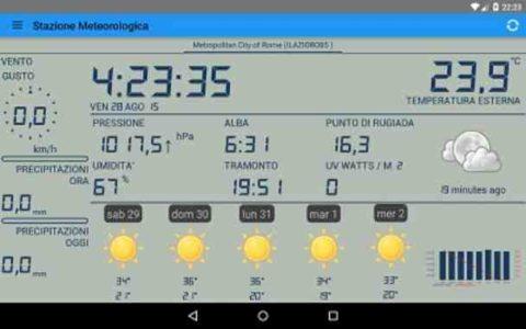 Android la migliore stazione meteo Download Apk