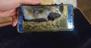 Batterie che esplodono avviso Samsung