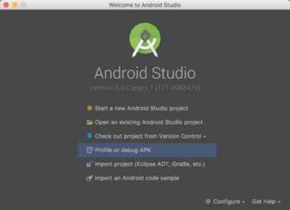 Download Android Studio 30 gratis