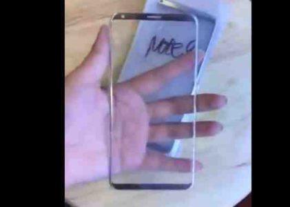 Galaxy Note 8 2017 anteprima video Samsung