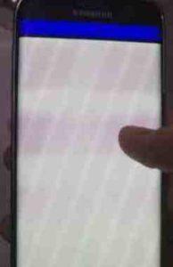 Dopo ultimo aggiornamento software Samsung Galaxy S6 Edge il display Galaxy S6 Lampeggia