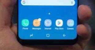 Galaxy S8 Regolazione sensibilità pulsante Home