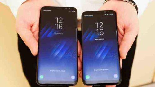 Galaxy S8 resiste all Acqua e alla polvere