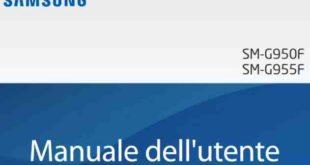 Galaxy S8 Manuale D'uso italiano Pdf Android 7