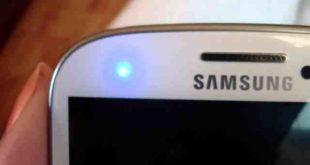 Galaxy S8 Come disattivare il LED di segnalazione