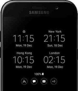 Galaxy S8 orologio non aggiorna automaticamente ora e data