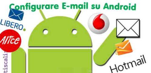 Huawei P10 come mettere la mail posta elettronica
