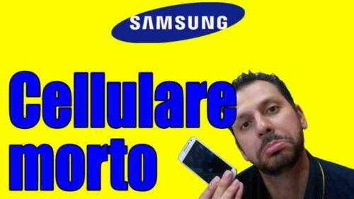 Samsung S7 non si accende Ecco le possibili cause