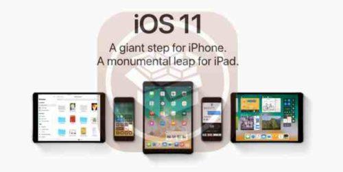 iOS 11 i dispositivi Apple iPhone iPad iPod compatibili