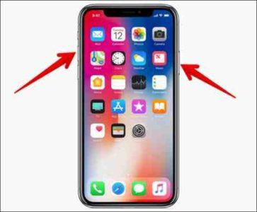 Iphone X Screenshot come catturare la schermata