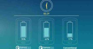 Samsung Note 8 Ricarica veloce batteria