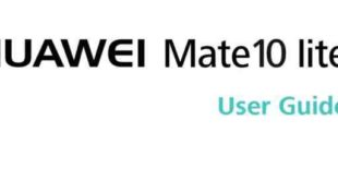 User guide huawei mate 10 lite