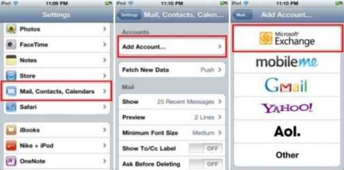 iPhone 8 Come mettere mail Hotmail