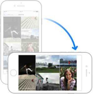 iPhone 8 iOS 11 come attivare orientamento automatico schermo