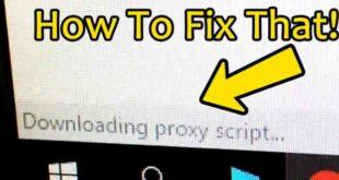 Google Chrome bloccato su Download Script Proxy