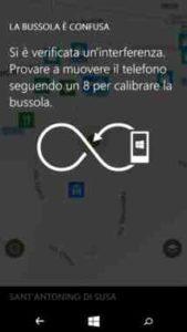 Samsung Note 8 Come calibrare la bussola