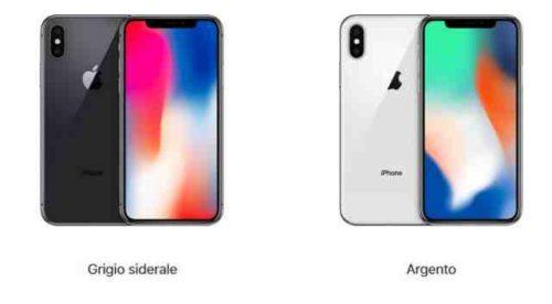 iPhone X colori disponibili Quale è il più bello