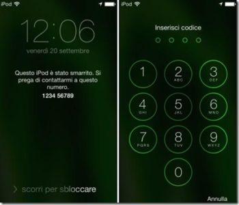 iPhone X come sbloccare riattivare con iOS 11