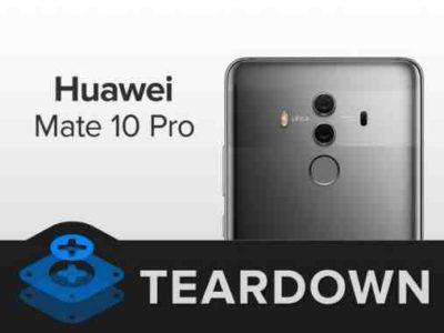 Huawei Mate 10 Pro cambiare la batteria
